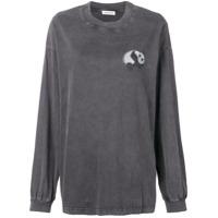 Balenciaga Camiseta Panda - Preto