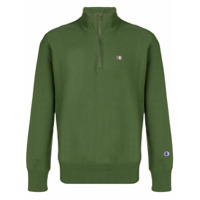 Champion Branded Jersey Sweater - Green