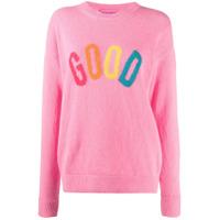 Ireneisgood Suéter Com Logo - Rosa