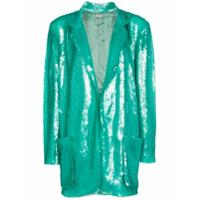 Natasha Zinko Blazer Com Abotoamento Simples - Verde