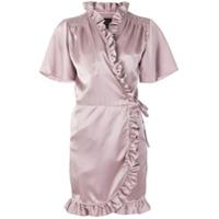 Iil7 Vestido Com Detalhe De Babado - Rosa