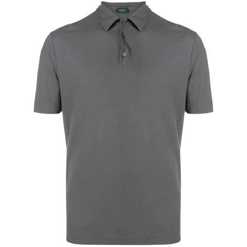 Zanone classic polo shirt - Cinza