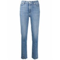 Paige Calça Jeans Com Cintura Alta - Azul