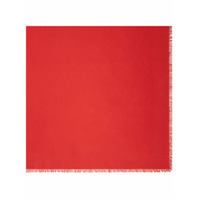Fendi Echarpe Monogramada - Vermelho