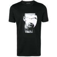 Diesel Black Gold Printed T-Shirt - Preto