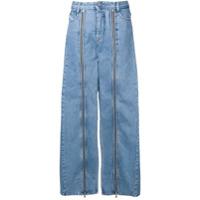 Diesel Red Tag Calça Jeans Com Detalhe De Zíper - Azul