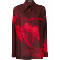 Kwaidan Editions 70's Habotai Shirt - Vermelho