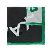 Karl Lagerfeld Echarpe 'k/sporty' Com Logo - Verde