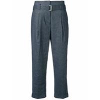 Peserico Calça Efeito Jeans - Azul