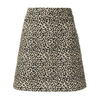 A.p.c. Saia Com Animal Print - Neutro