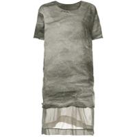 Uma Wang Camiseta Longa - Cinza