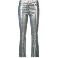 J Brand Selena Crop Jeans - Dourado
