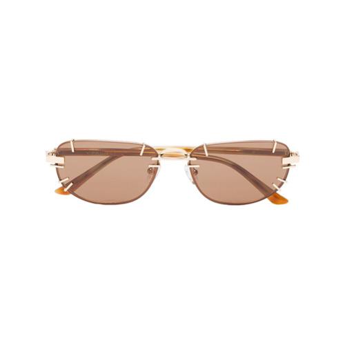 Linda Farrow Óculos de sol - Marrom