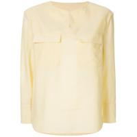 Ballsey Blusa Listrada - Amarelo
