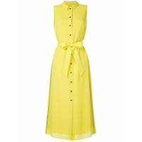 Cefinn Vestido Com Abotoamento - Amarelo