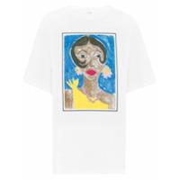 Victoria Victoria Beckham Camiseta Com Estampa Josephine - Branco