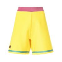 Marni Bermuda Com Bordado - Amarelo