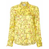 Baum Und Pferdgarten Camisa Com Estampa Floral - Amarelo