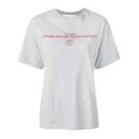 Golden Goose Camiseta Com Logo - Cinza