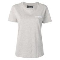 Han Kjøbenhavn Camiseta Com Logo - Cinza