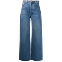 Boyish Jeans Calça Jeans Pantalona Com Lavagem - Azul
