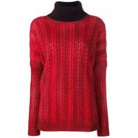 Avant Toi Turtleneck Sweater - Vermelho