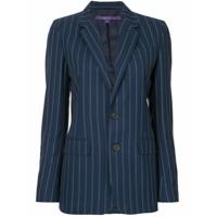 Ralph Lauren Collection Blazer Listrado - Azul