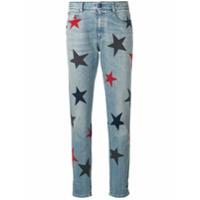 Stella Mccartney Calça Jeans Boyfriend 'stars' - Azul