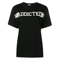 P.a.r.o.s.h. Camiseta 'addicted' - Preto