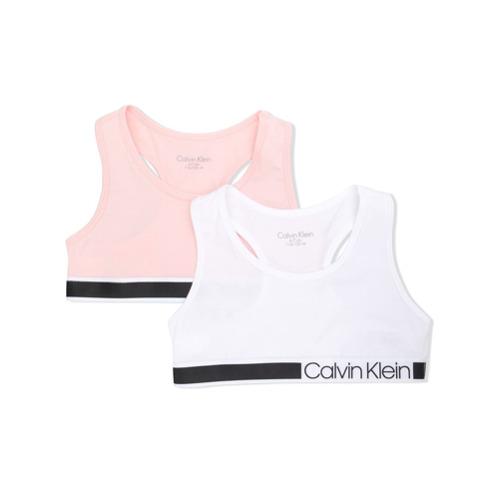 Imagem de Calvin Klein Kids Conjunto 2 peças com logo - Branco