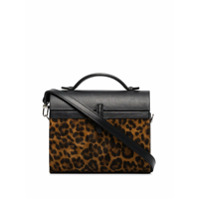 Hunting Season Bolsa Tote Gigi Animal Print - Marrom