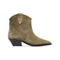 Isabel Marant Ankle Boot 'dewina 40' - Green