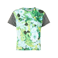 Richard Quinn Camiseta Com Estampa Floral - Green