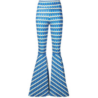 C'Est La V.it Calça Piper Chevron - Azul