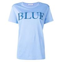 Quantum Courage Camiseta Lisa - Azul