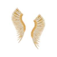 Mignonne Gavigan Par De Brincos 'long Wings' - Amarelo
