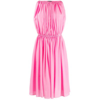 Gianluca Capannolo Pleated Mini Dress - Rosa