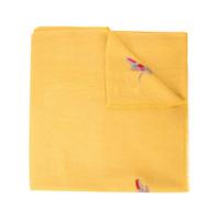 Janavi Cachecol Com Aplicação - Amarelo