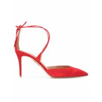 Aquazzura Sapato Matilde - Vermelho