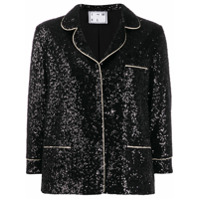 In The Mood For Love Sofia Sequin Blazer - Preto