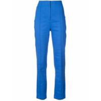 Dvf Diane Von Furstenberg Calça De Alfaiataria - Azul