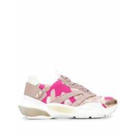 Valentino Valentino Garavani Bounce Camouflage Sneakers - Rosa