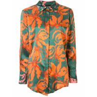 Anteprima Satin Fiore Gloriosa Shirt - Multi Color 600