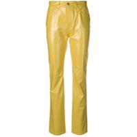 Fiorucci Calça Cintura Alta - Amarelo