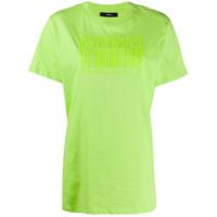 Diesel Camiseta Com Logo Gravado - Verde