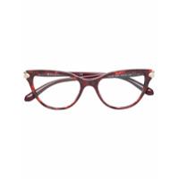 Bulgari Armação De Óculos - Vermelho