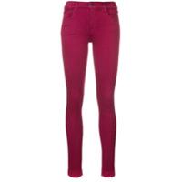 J Brand Calça Jeans Skinny - Vermelho