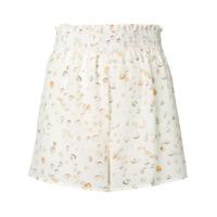 Tara Matthews Seashell Printed Shorts - Neutro
