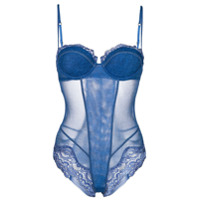 La Perla Body Com Renda - Azul