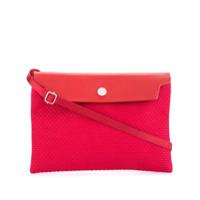 Cabas Bolsa Mini Com Contraste - Vermelho